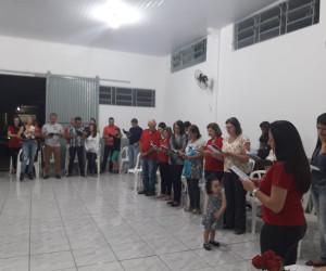 Pastoral do Dízimo com o setor 19 na NOVENA DO DÍZIMO