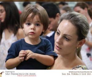 Reunião com Catequizandos e Pais de Crisma