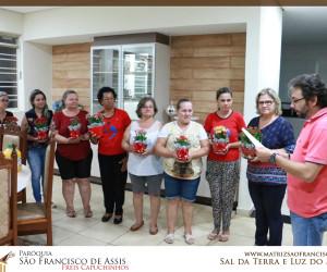 Reunião com os funcionários e comemoração ao dia da Mulher