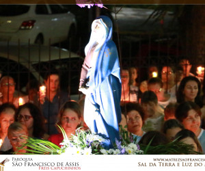 Procissão do Encontro Jesus com Maria