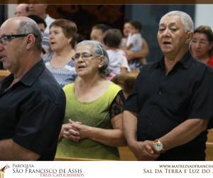 Visita da Imagem de São Francisco ao Setor 22 - Início