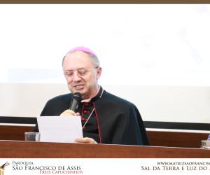 Coletiva de Imprensa - 52ª dia da Comunicação Social - Tema Fake News - Bispo Dom Mamede Filho, OFM Conv.