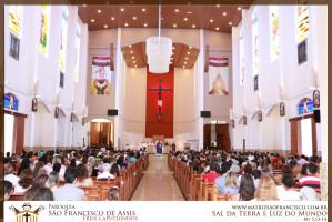 Missa Quarta-feira de Cinzas - 15h e 20h